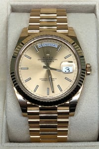 ROLEX President Day-Date all 18k Gold NEW NEVER WORN!  Costa Mesa, 92627