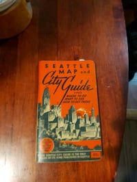 1952 Seattle city guide book