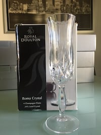 Royal Doulton Roma Crystal Champagne Flute