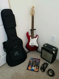 Electric Guitar with Amp, Stand and Soft Case Bradenton, 34202