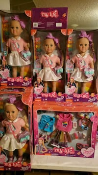 Jo jo dolls $55 clothing ($30,35)candy store 55 Miami, 33173