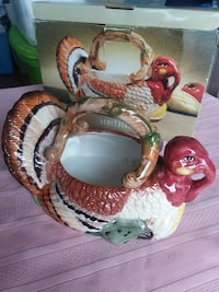 TURKEY BASKET Food holder