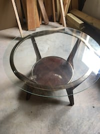 Glass Side Table — 2 sizes