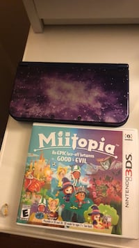 Nintendo 3DS XL Galaxy and game 1300 mi