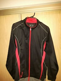 black and red zip-up jacket Saskatoon, S7N 2A9