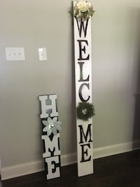 Reversible outdoor/indoor wood signs custom made to order. Starting at $35 Frederick, 21702