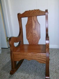 Child sized rocking chair, solid wood Lititz, 17543