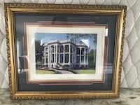 Signed and numbered picture, of Nottoway plantation, in New Orleans. Avon-by-the-Sea, 07717