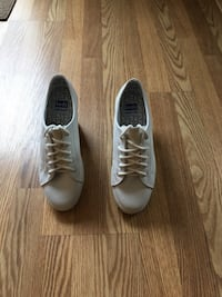 KEDS WHITE LEATHER SNEAKERS NEW Howell, 07731