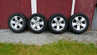 "Ram 1500 20"" wheels and tires Surrey, V4N 5T2"