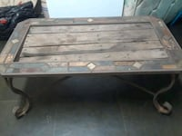 Wooden and metal table  West Monroe, 71292
