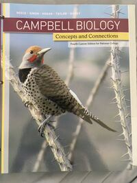 Cambell Biology Concepts and Connections book Murrieta, 92563