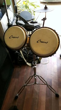 two black and gray drum set Moreno Valley, 92557