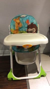 Fisher price high chair Mississauga, L5M 4T5