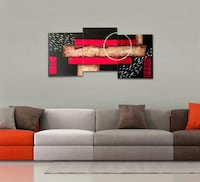 Beautiful Abstract 3 piece Painting Set