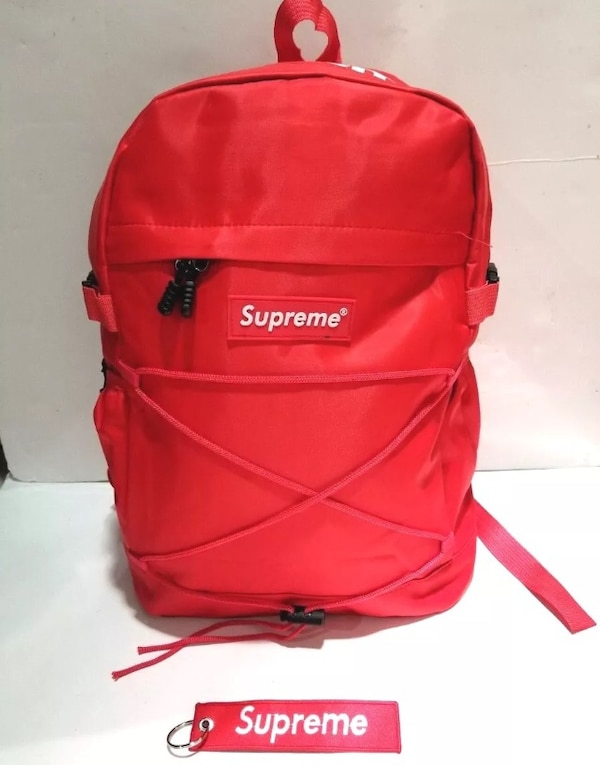 a78b62b757b9 Used Red Supreme Backpack ! for sale in New York - letgo