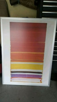 white and red wooden cabinet