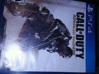 Sony PS4 Call of Duty Advanced Warfare game case Bakersfield, 93307