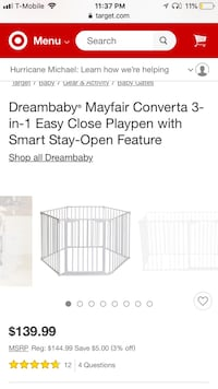 New 3 in 1 playpen Lockland, 45215