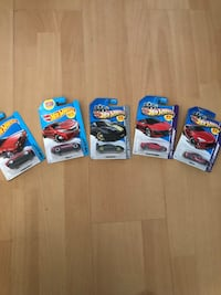 NEVER BEFORE OPENED Hot Wheels Collectables. 1 for $3, 5 for $11 Hacienda Heights, 91745