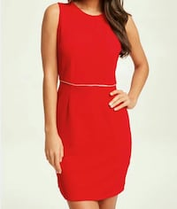 Robe rouge taille 38