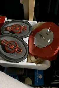 Sony car speakers and amplifier