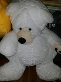 white and black bear plush toy Milford Charter Township, 48381