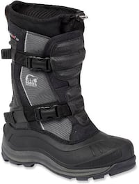 NEW Sorel Alpha Trac Buckle Boots size 41
