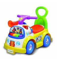 Push and Pull Ride on Car Toy