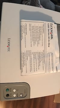 Lexmark 1200 series All-In-One Lyles, 37098