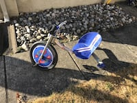 Fast tricycle