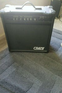 black and gray Crate guitar amplifier Woodbridge, 22192