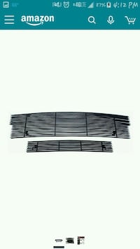 NEW 2pc Black Billet Grill for a 10th Gen F150 Falling Waters, 25419