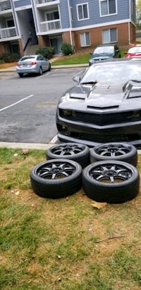 4 17in 4x100  4x114.3 wheels rims and tires  Germantown, 20874