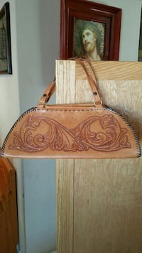 brown leather handbag North Las Vegas, 89031