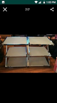 ASHLEY'S FURNITURE END TABLES