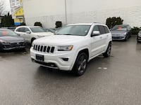2015 Jeep Grand Cherokee Overland 4WD Coquitlam