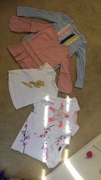 Girl shirts size  8 (gap/H&M) Oakley, 94561