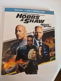 Hobbs and shaw Blu ray