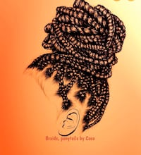 Hair styling, braids and sleek ponytails, prices starting at $50 Toronto