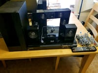 black and gray home theater system Bronx, 10462