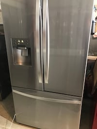 2016 Stainless Steel Kenmore French Door Refrigerator Sterling Heights, 48310