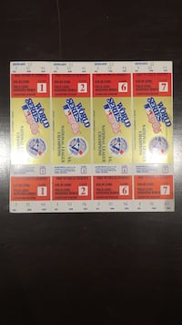 Four 1985 World Series tickets to a series that was so close to happening Toronto, M1L 4L3