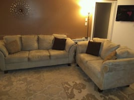 Large sofa and love seat $800