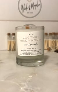 Handcrafted Coconut Milk + Honey Candle  Lewis Center, 43035