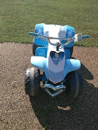 blue and white ride on ATV Maumelle, 72113