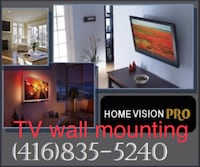 TV wall mounting  Toronto
