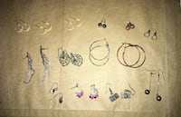 Earrings 2.00 each  Bolton, L7E 1B2