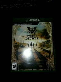 State of decay 2 Xbox one Martinsburg, 25404