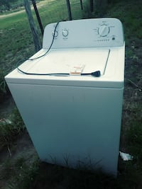 white top-load clothes washer Mission, 78574